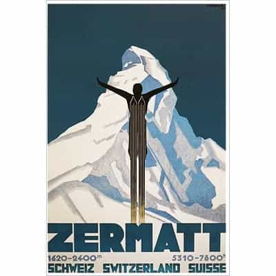 Zermatt Switzerland Postcard