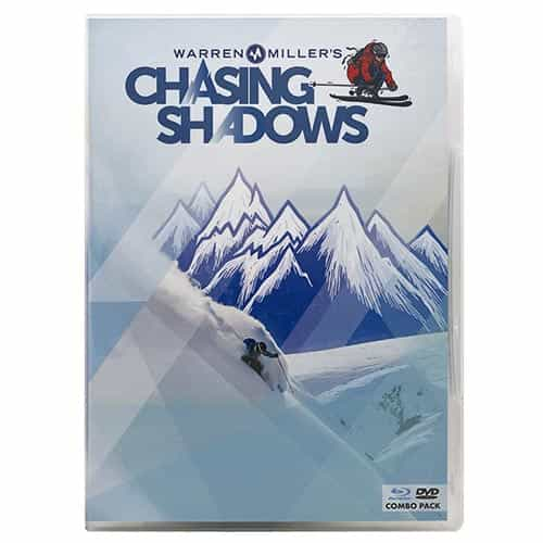 2016 Newly Released Combo Pack DVD & Blu-ray - Chasing Shadows by Warren Miller
