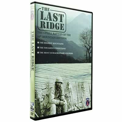 DVD The Last Ridge - 10th Mountain Division Story Told by 10th Vets