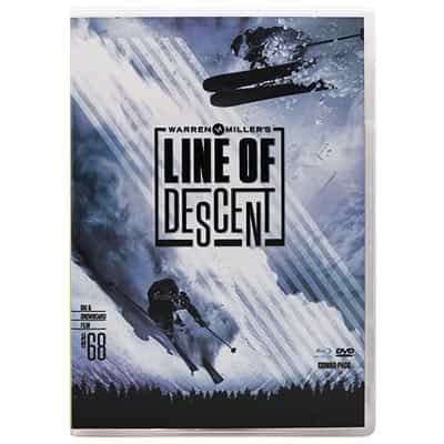 Newly Released 2017 Warren Miller Film 'Line of Descent' Combo Pack DVD & Blu-ray
