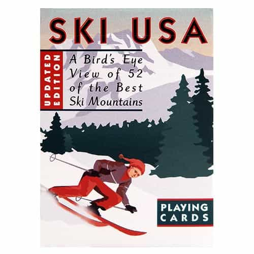 Playing Card Deck of Ski Areas