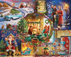 Jigsaw Puzzle Christmas Traditions, 1000 Pieces
