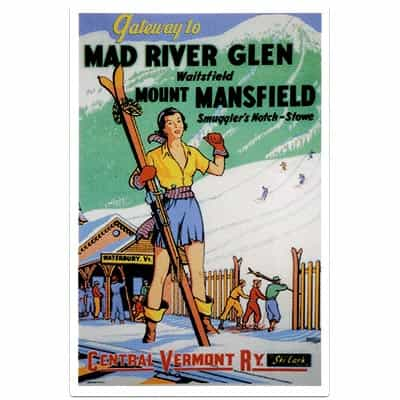 Mad River Glen Magnet