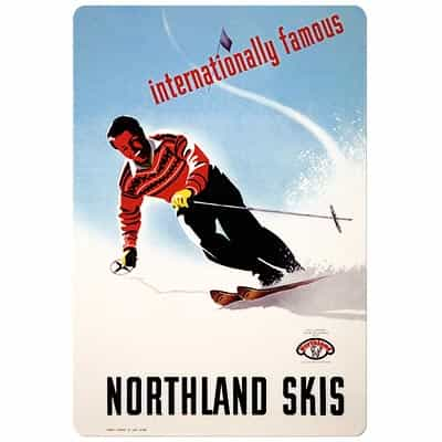 Northland Skis Magnet