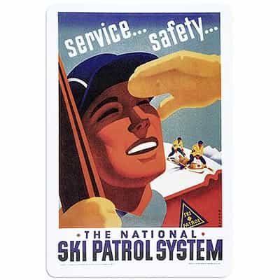 National Ski Patrol Magnet