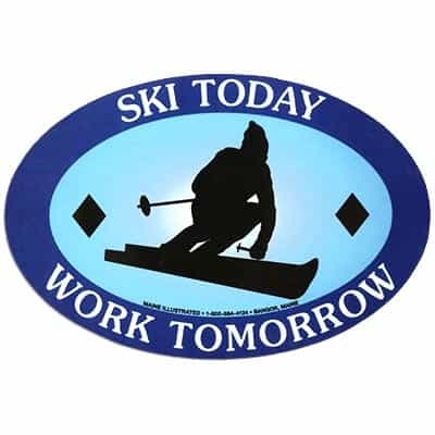 Ski Today Magnet