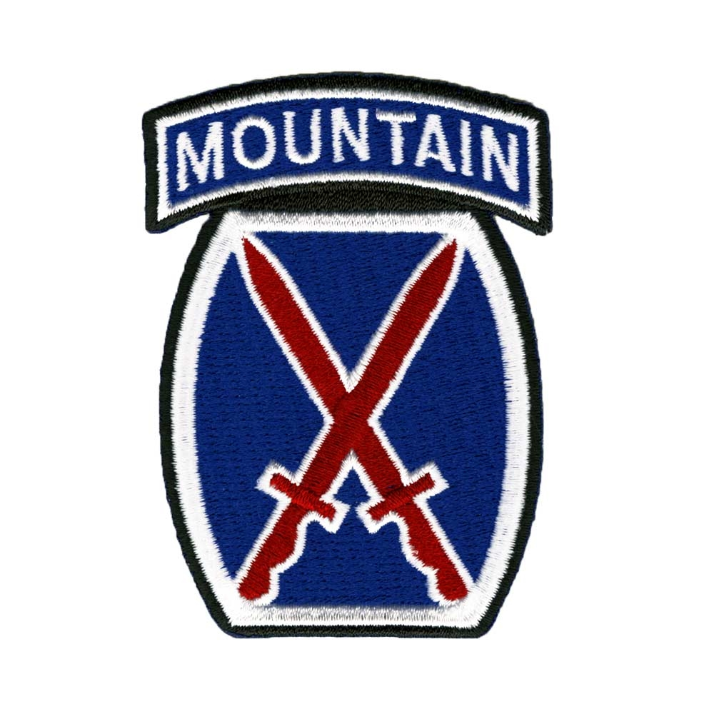 10th Mountain Division Logo Collector Patch