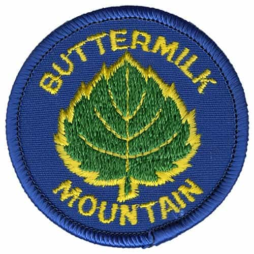 Buttermilk Mountain Vintage Ski Patch