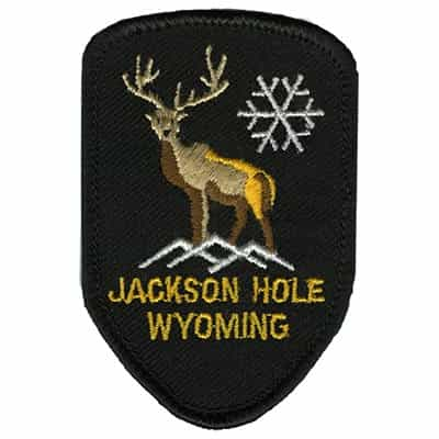Jackson Hole Wyoming Elk Vintage Patch
