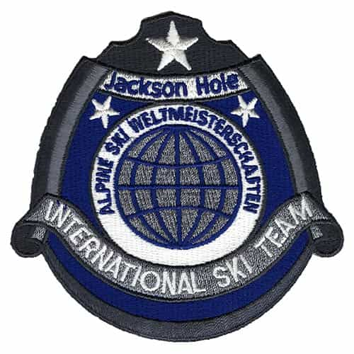 Jackson Hole Wyoming International Ski Team Vintage Patch