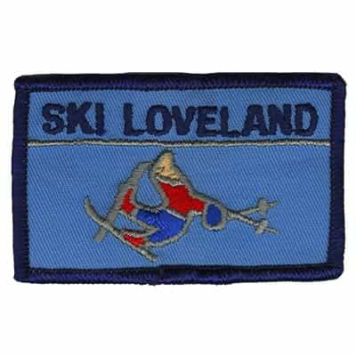 Loveland Colorado Vintage Ski Patch