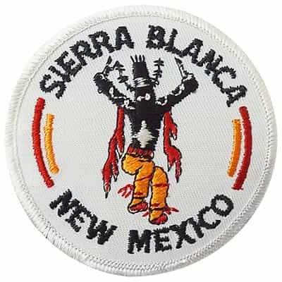 Sierra Blanca New Mexico Vintage Ski Patch
