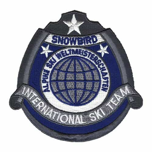 Snowbird Utah International Ski Team Patch