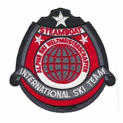 Steamboat Springs International Ski Team Vintage Patch