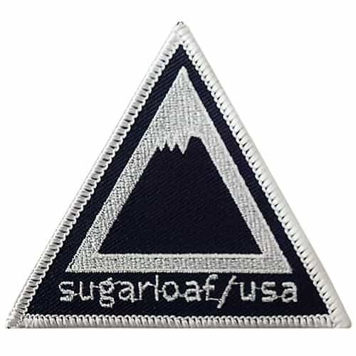 1960s Sugarloaf USA in Maine, Vintage Ski Patch