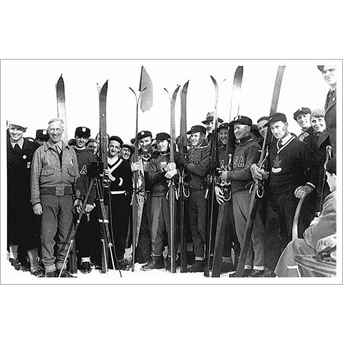 Dick Durrance and 1936 Olympic Ski Team Photo