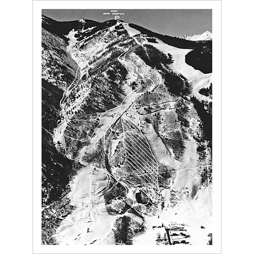 1950 FIS Race Course Photo (5 Sizes)