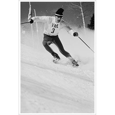 Jean Claude Killy Ski Racing In Vail Photo
