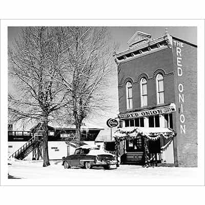 Red Onion Building, Aspen, CO Photo (5 Sizes)