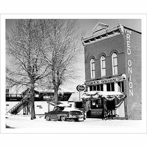 Red Onion Building, Aspen, CO Photo