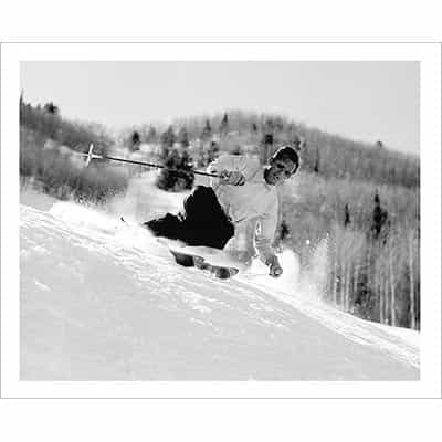 Friedl Pfeifer Aspen Ski Pioneer Photo
