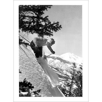 Dick Durrance on Aspen Mt. Photo