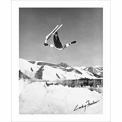 Vintage photo of Corey 'Corky' Fowler Sun Valley (Black & White or Sepia, 2 Sizes: 8 x 10 and 11 x 14 inches)