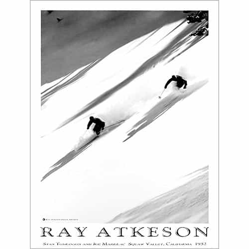 Squaw Valley, Ray Atkeson Vintage Ski Poster