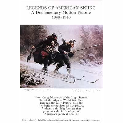 Legends of American Skiing Poster
