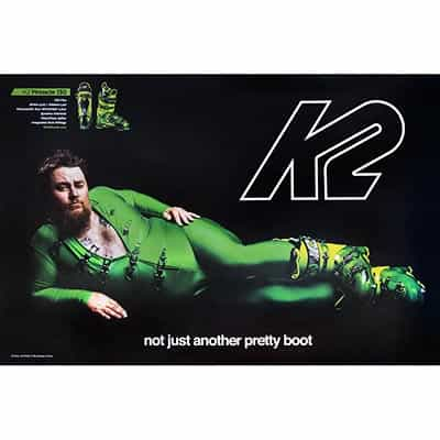2014 K2 Not Just Another Pretty Boot Poster
