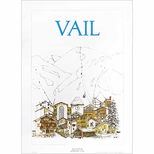 Vail Classic Original Poster by Jim Ford