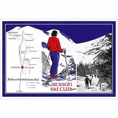 Mt. Washington Jackson Ski Club Poster