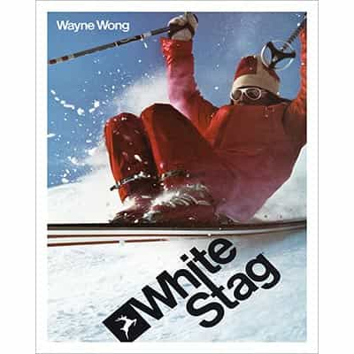 Ski Poster of 1970s Freestyle Icon - Wayne Wong Advertising for White Stag