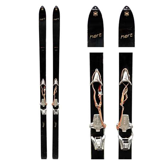 1970s Hart Holiday Vintage Metal Skis