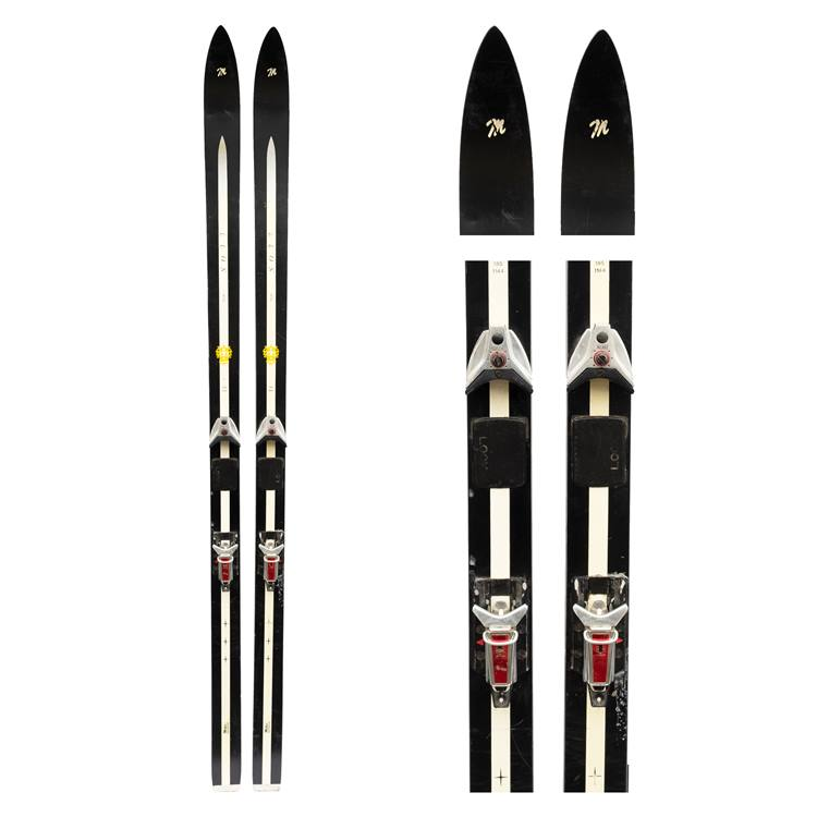 1980s Miller Super Soft Vintage Powder Skis