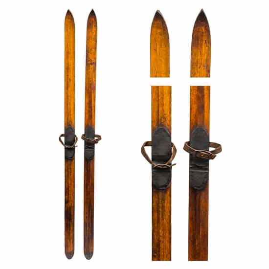 1900's Norwegian Ridge Top Touring Skis