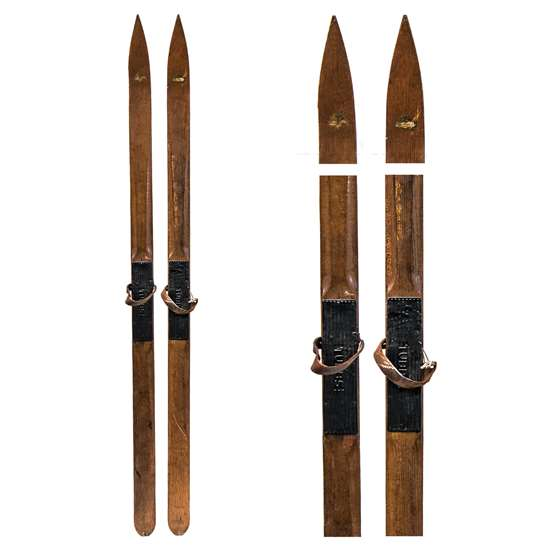 1900's Tubb's Vintage Ridge Top Touring Skis