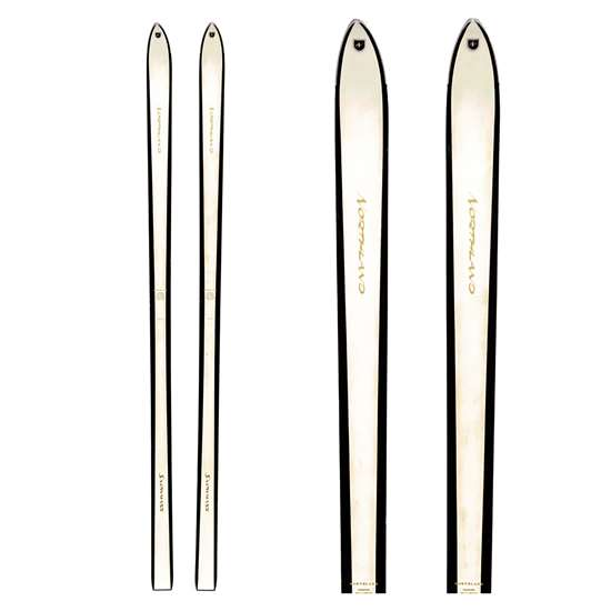 1960s Northland Snowmass Vintage Unmounted Skis, 185 cm