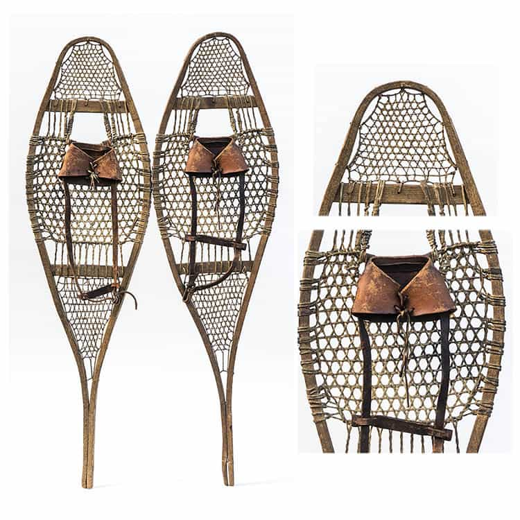 1920's Native American Antique Snowshoes