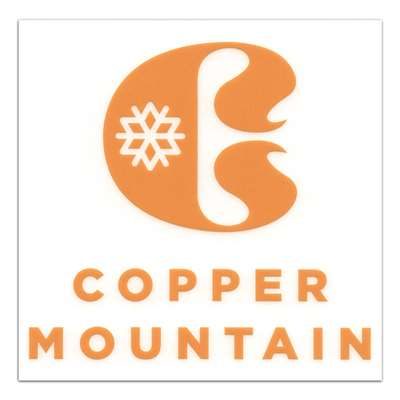 Copper Mountain, Colorado Ski Area Collectible Sticker