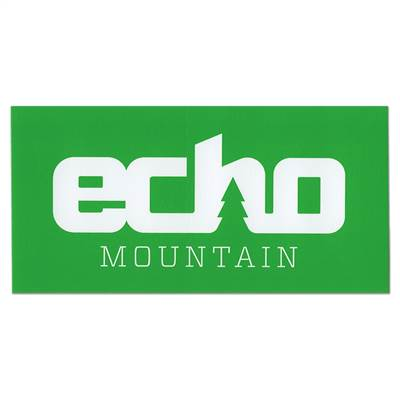 Echo Mountain, Colorado Ski Helmet Sticker