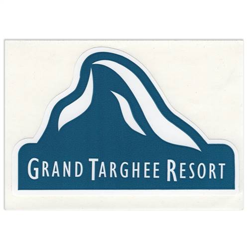 Grand Targhee, Wyoming Sticker for Skis, Snowboards and Helmets