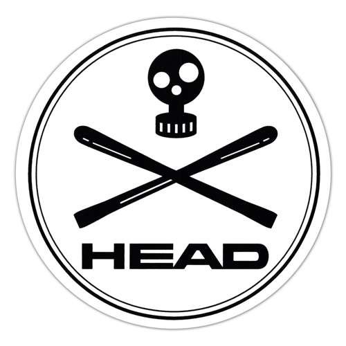Head World Cup Rebels Ski Sticker