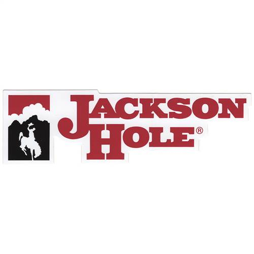 Jackson Hole, Wyoming Sticker for Skis, Snowboards and Helmets