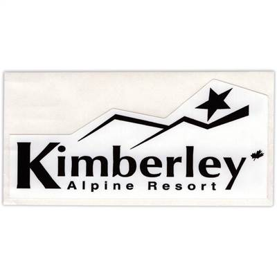 Kimberley, British Columbia Sticker for Skis, Snowboards and Helmets