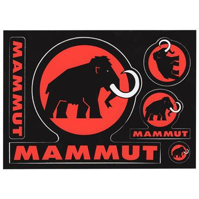 Mammut Ski Sticker Set of 5 Ski Helmet Stickers