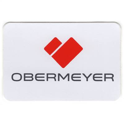Obermeyer Ski Helmet Sticker