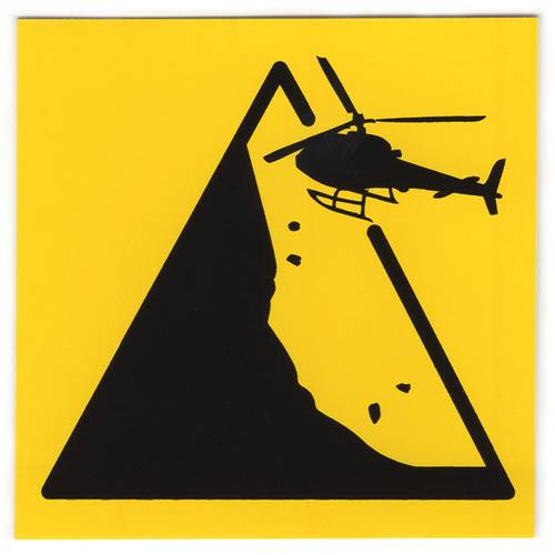 Silverton Mountain, Colorado - Heli-Ski Ski Helmet Sticker
