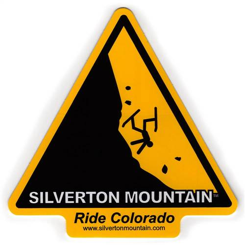 Silverton Mountain, Colorado - Ride Colorado Ski Helmet Sticker