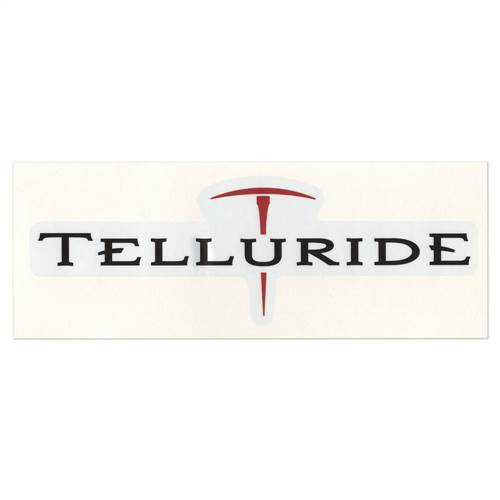 Telluride, Colorado Ski Helmet Sticker